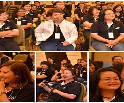 (STO) หลักสูตร : SAT Team พลังแห่งทีมงานและมิตรภาพขององค์กร การกีฬาแห่งประเทศไทย