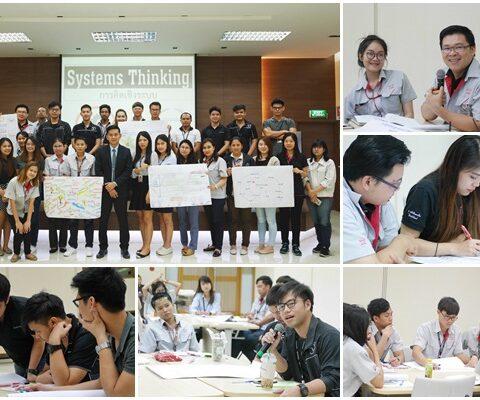 (INH) หลักสูตร : การคิดเชิงระบบ บริษัท ฮีโน่มอเตอร์ แมนูเฟคเจอริ่ง (ประเทศไทย) จำกัด