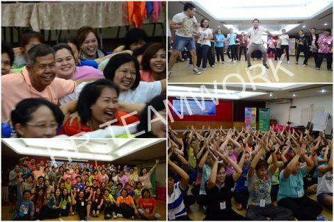 """(STO) หลักสูตร : """"BCNS Smile Team : พลังแห่งทีมงานและมิตรภาพขององค์กร"""" วิทยาลัยพยาบาลบรมราชชนนี สระบุรี"""