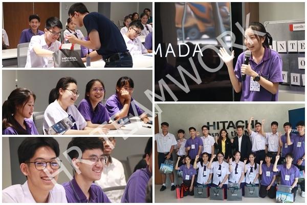 (CAMP) ค่ายนวัตกรรมนักคิดเชิงวิทยาศาสตร์ บริษัท ฮิตาชิ เอเชีย (ประเทศไทย) จำกัด
